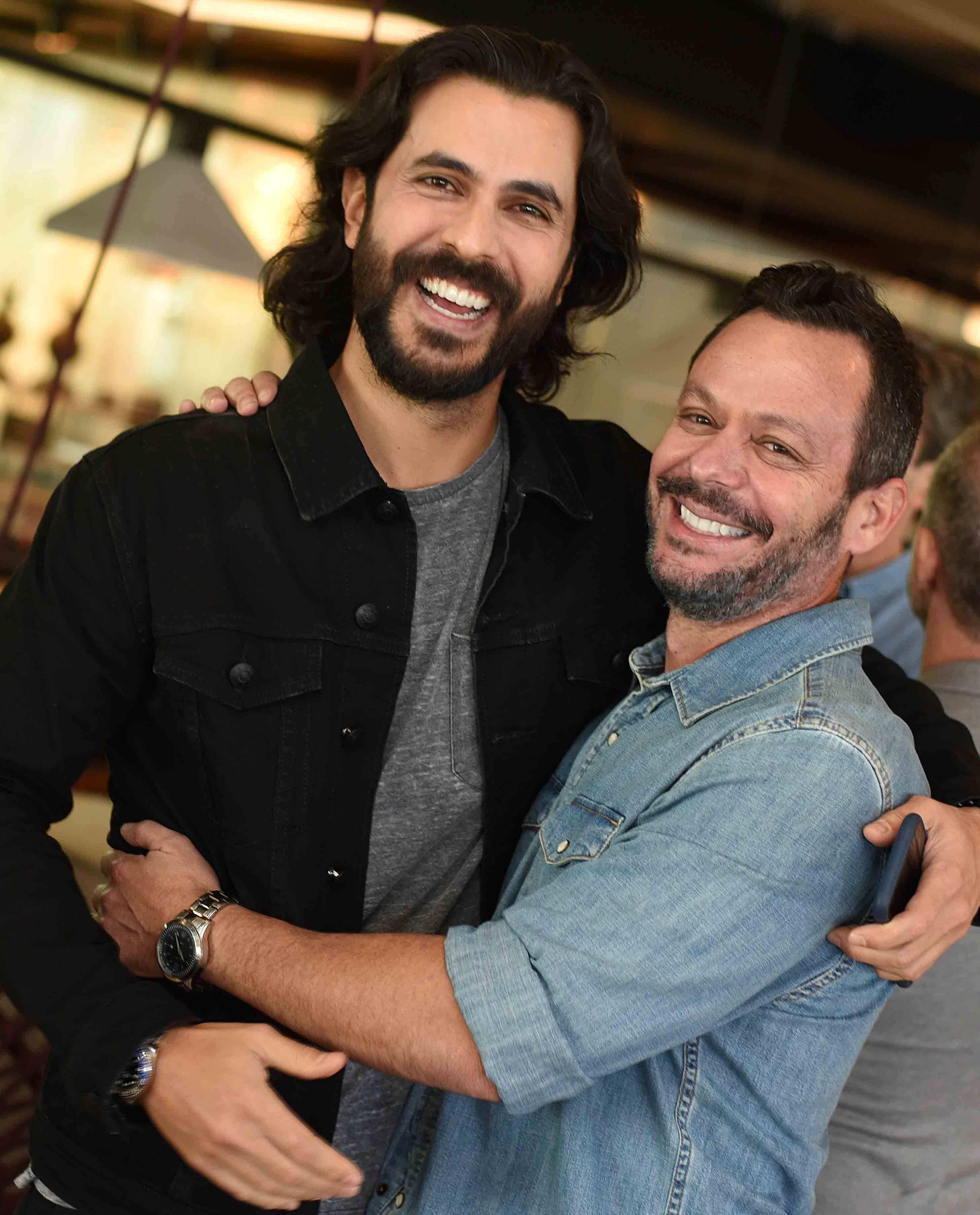 Artur Fernandes e André Serra  / Foto: Ari Kaye
