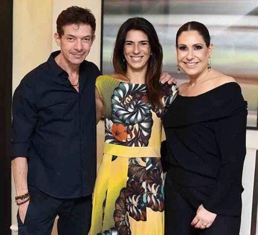 André Piva, Bia Pedrini e Vanessa Borges
