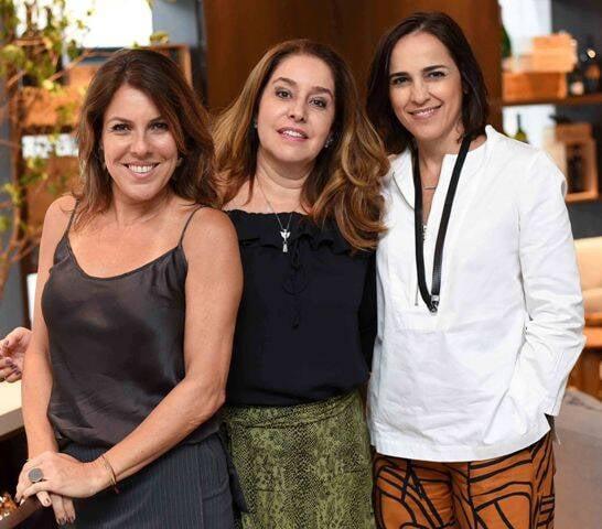 Andréa Neves Duarte, Anna Malta e Gisele Taranto