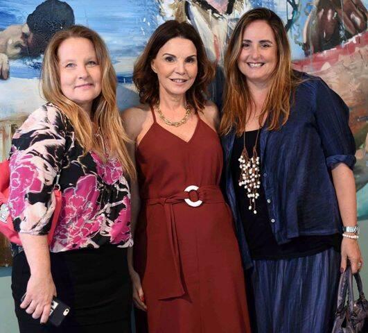 Bia Mayrink, Patricia Mayer e Tiana Meggiolaro