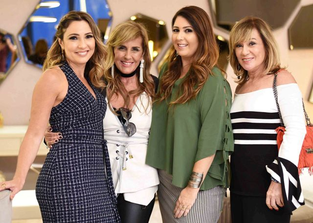 Claudia Pimenta, Patricia Hall, Patricia Franco e Eva Taquechel
