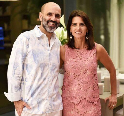 Claudio Gomes e Ana Lúcia Jucá