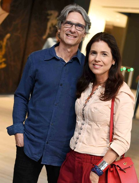 Ricardo Licht e Angela Hall