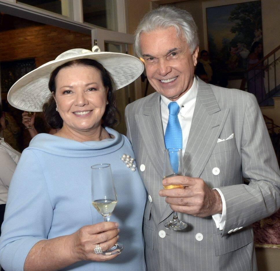 Margot e Volney Pitombo  /Foto: Cristina Granato