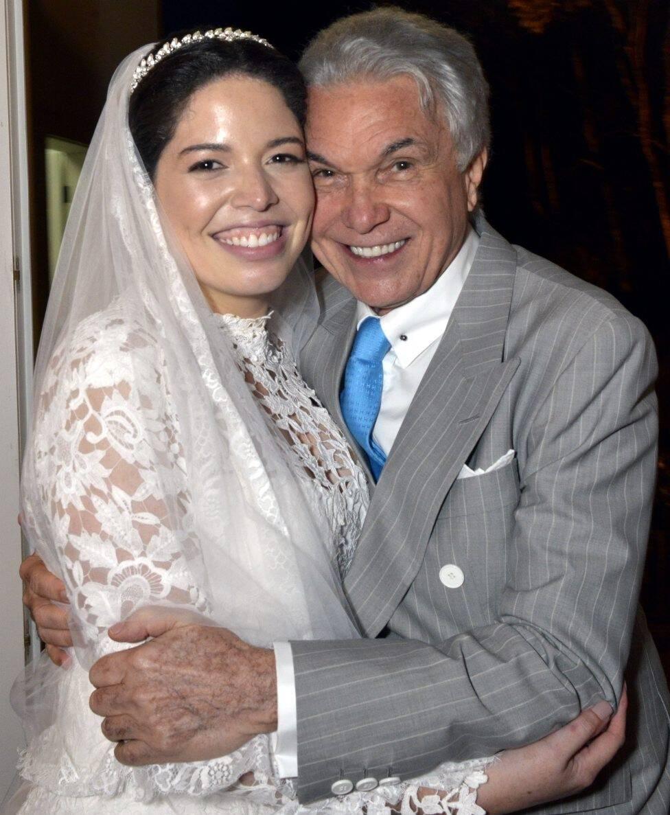 Paula com o pai,  Volney Pitombo   /Foto: Cristina Granato