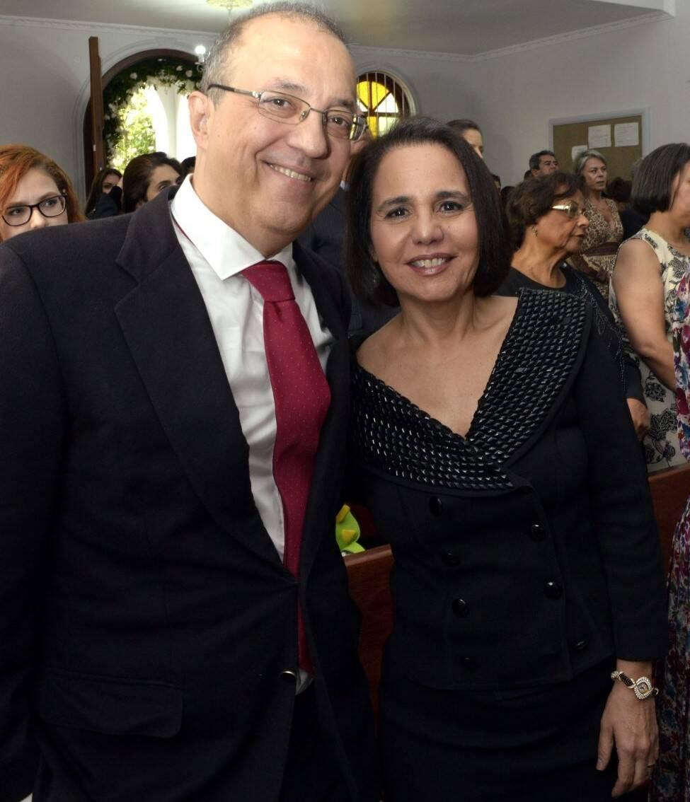 Raul Chamma e Gisela Pitanguy  /Foto: Cristina Granato