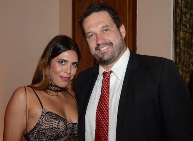 Nicole Argalji e Leonardo Madeira