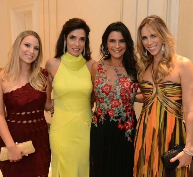 Pra dar uma ideia do perfil das convidadas: Natasha Chueke, Rosane Nachbar, Izabela Hamawy e Andrea Nachbar