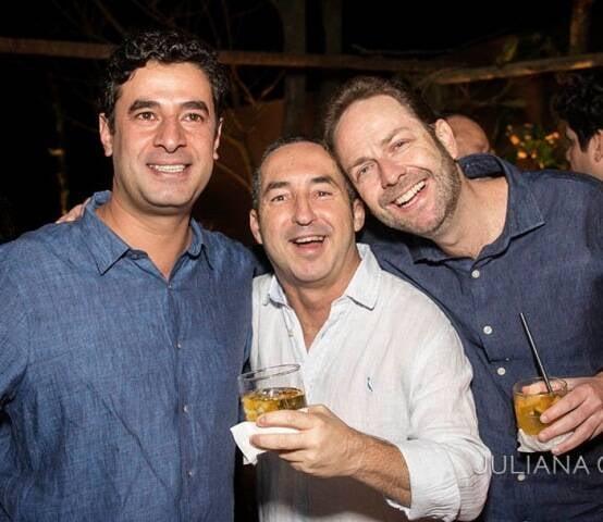 Bernardo Anastasia, André Miranda e Sergio Malamud