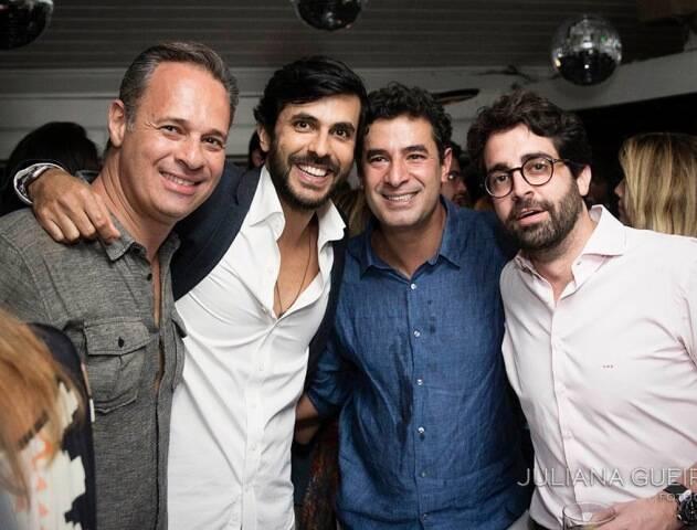 Cadu Dutra, Artur Fernandes, Bernardo Anastasia e Gustavo de Paulo