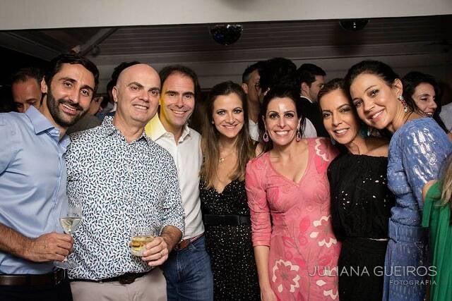 Olavo Pereira, Sergio Steremberg, Pedro Maciel, Ana Paula Maciel, Rafaela Bibas, Karina Steremberg e Astrid Haegler Pereira
