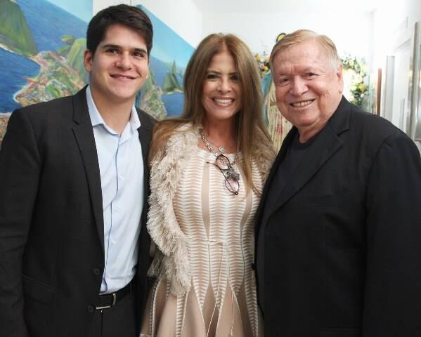 Bruno, Lou e Boni de Oliveira
