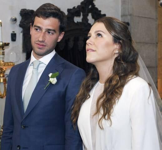 Os lindos noivos Catharina Tamborindeguy Johannpeter e Luis Felipe Pereira da Silva