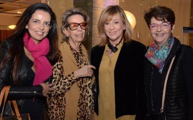 Adriana Falcão, Regina Russo, Eva Taquechel e Giselle Falcão
