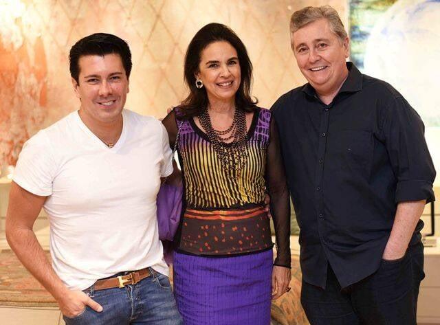 André Ramos, Joy Garrido e Adolfo Fuzinatto