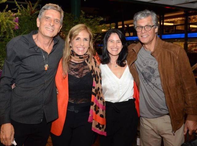 Bob Cardim, Patricia Hall, Patricia Barros e Ricardo Hachiya