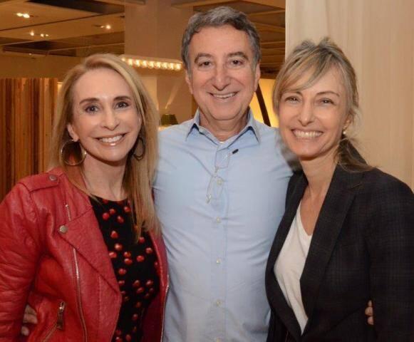 Eliane Benchimol, Salomão Crosman e Patricia Marinho