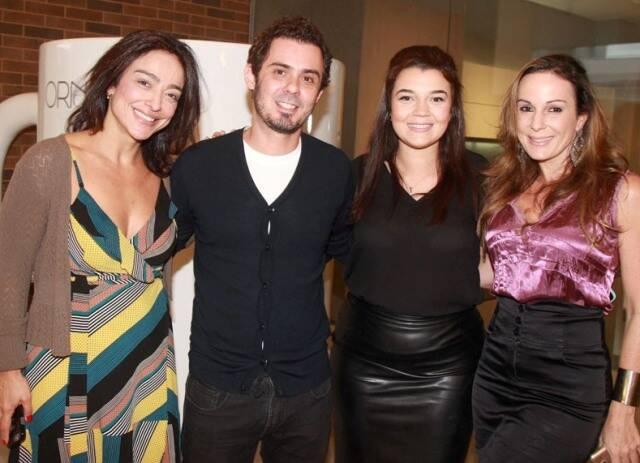 Ana Paula Iespa, Henrique Ramalho, Raphaella Oliveira e Suzana Galdeano