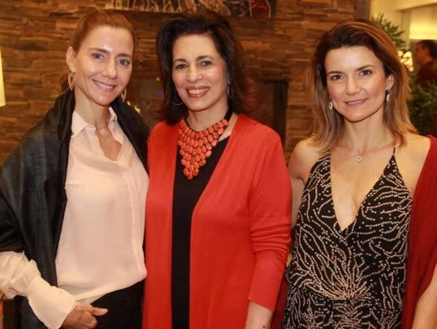 Fernanda Marcolini, Ana Maria Indio da Costa e Flavia Marcolini