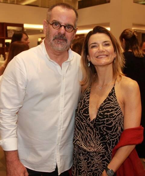 Eduardo Machado e Flavia Marcolini