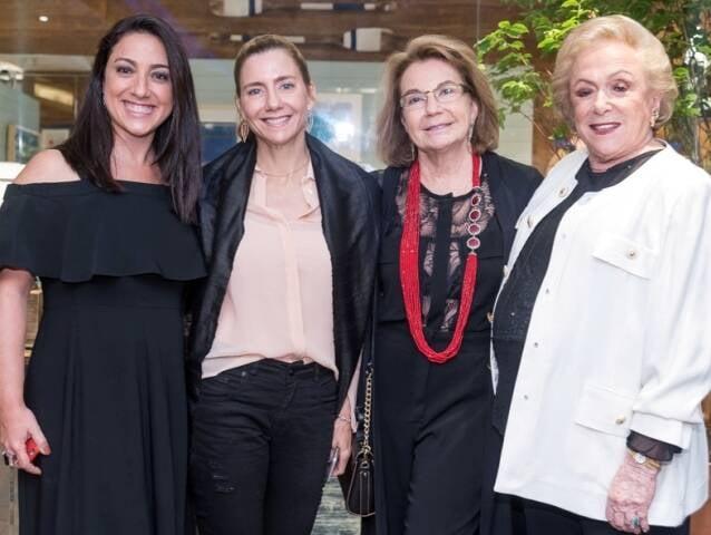Mônica Kochen, Fernanda Marcolini, Regina Raffaelli e Rosa Kochen