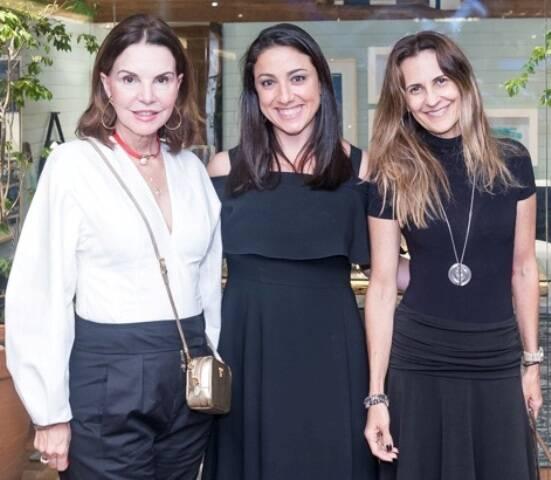 Patricia Mayer, Mônica Kochen e Cristiana Médici