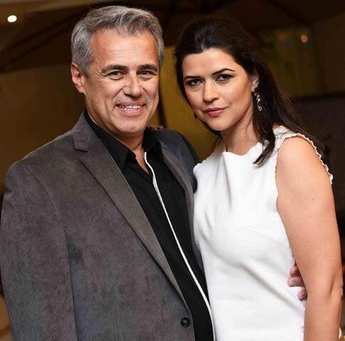 Sérgio Gonçalves e Fernanda Dorta