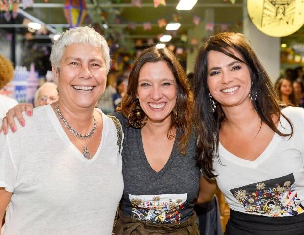 Adrian Didier, Isabela Capeto e Ione Costa