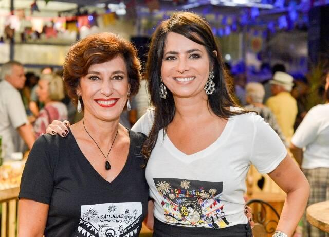 Maria Silvia Bastos Marques e Ione Costa