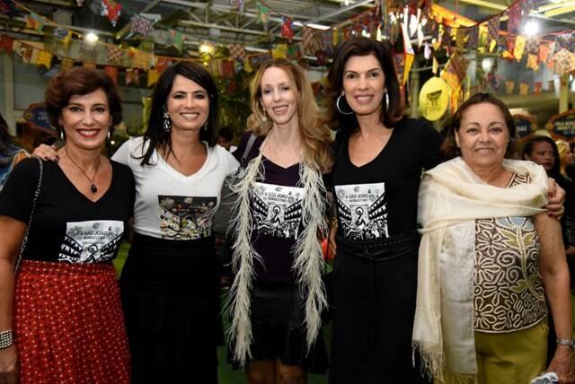 Maria Silvia Bastos Marques, Ione Costa, Anna Tolpiakow, Silvia Zornig e Irani Costa