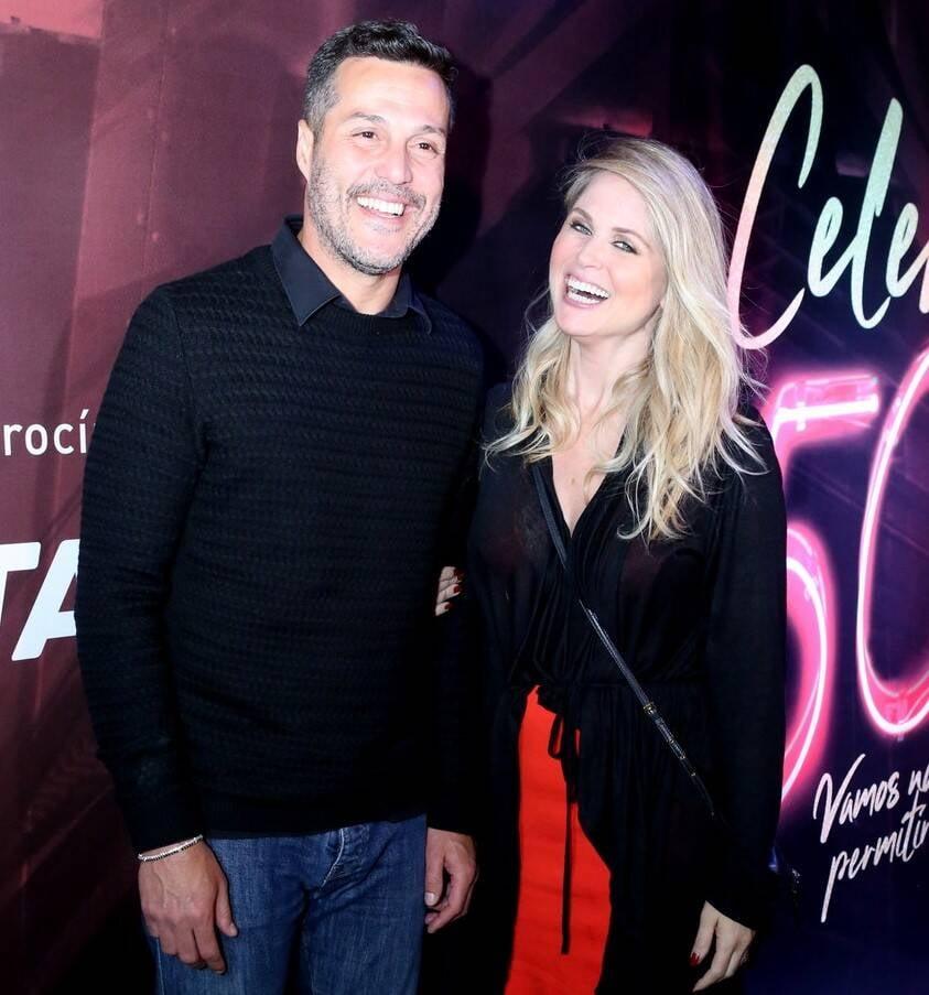 Julio Cesar e Susana Werner /Foto: Reginaldo Teixeira/CS Eventos