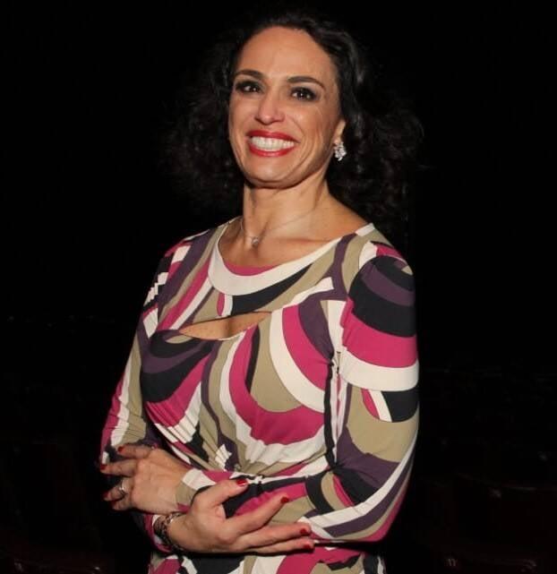 Ju Daud, atriz e produtora do espetáculo /Foto: Leandro Menezes