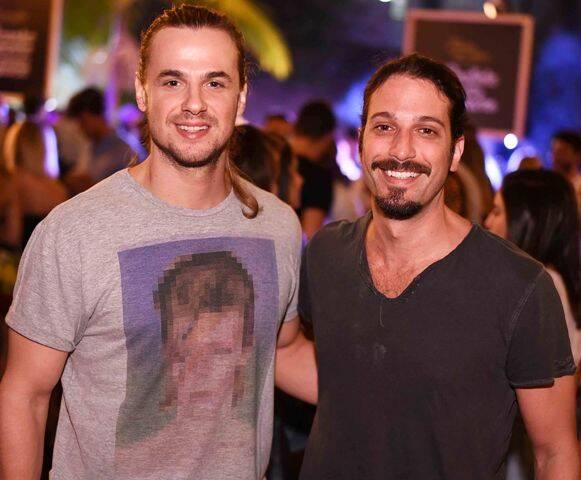Daniel Erthal e Marco Antônio Gimenez
