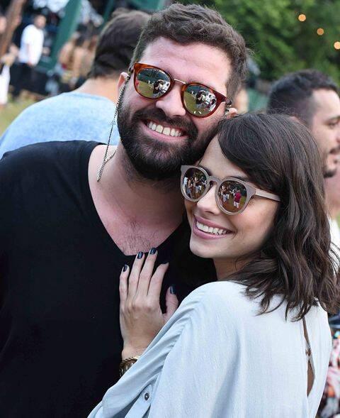 Eduardo Brasil e Talita Vaccaro