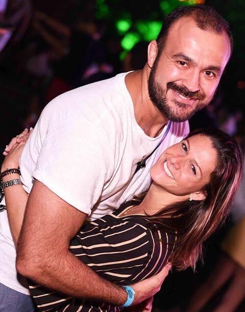 Sandro Leite e Carol Pessolani