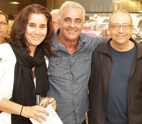 Renata Melo, Humberto Cezar e Rogério Reis