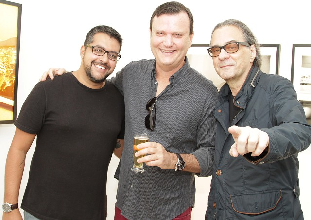 Marcelo Moura, Luiz Alphonsus e Leonardo Amarantes
