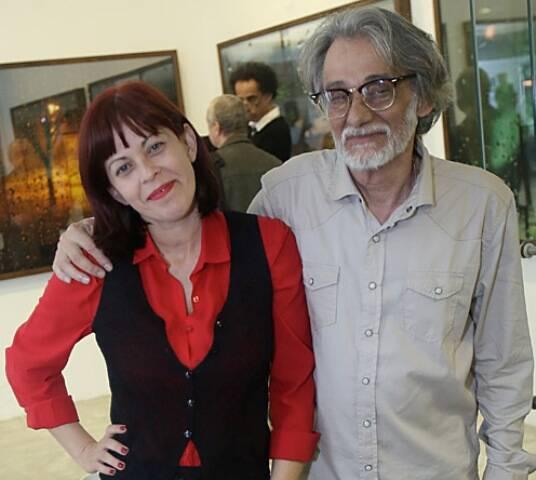 Monique Paton e Jorge Calfo