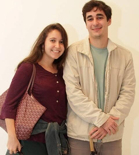 Mariana Magalhães Costa e Raphael Zecchin