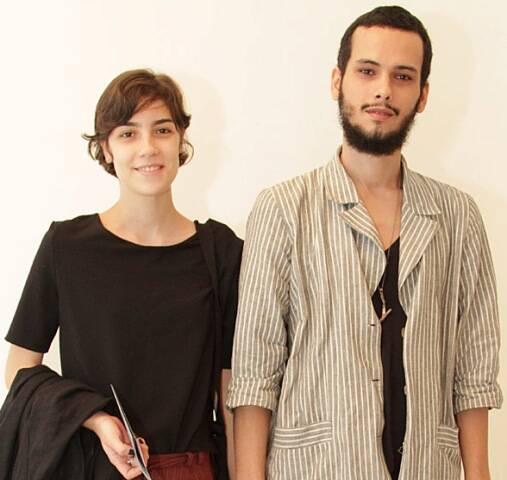 Flávia Brito e Lucas Demps