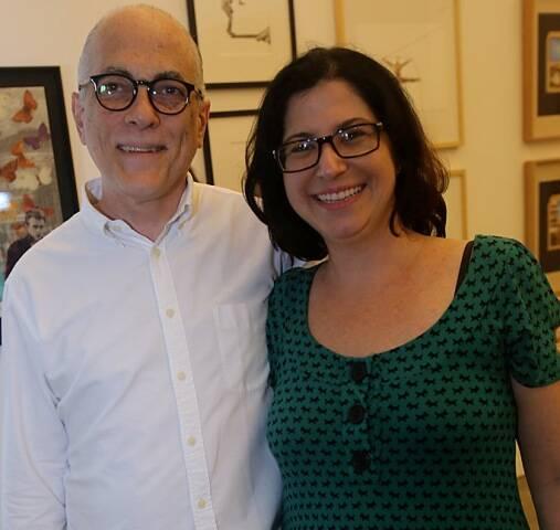 Ricardo Duarte e Dominique Valansi