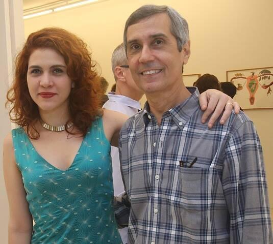 Júlia Debasse e Artur Fidalgo