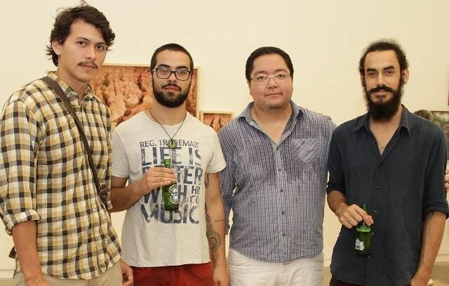 Dimmy e Aldones Nino, Adriano Tomino e Mateus Souza