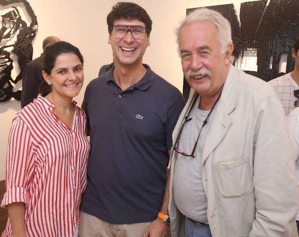 Bianca Ayres, Eduardo Costa e Carlos Vergara