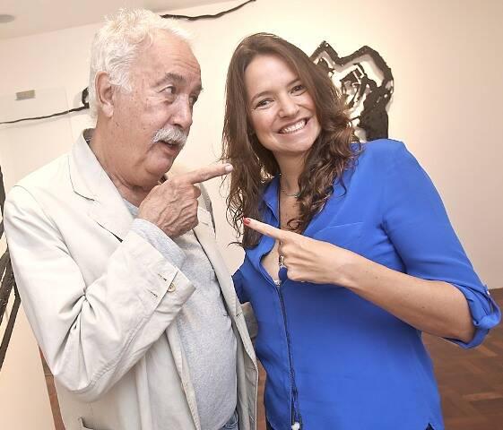 Carlos Vergara e Brenda Valansi