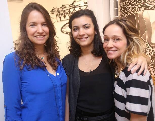 Brenda Valansi, Laura Mello e Luísa Kovch