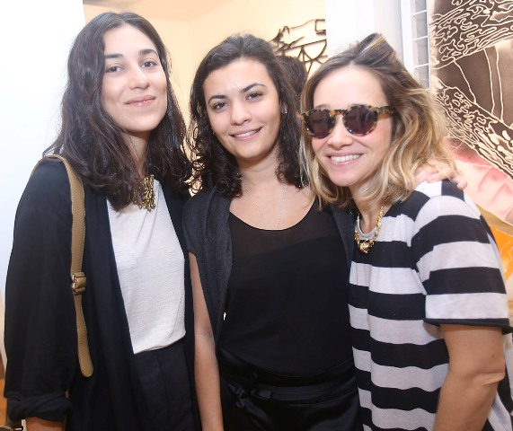 Luiza Calmon, Laura Mello e Luísa Kovch