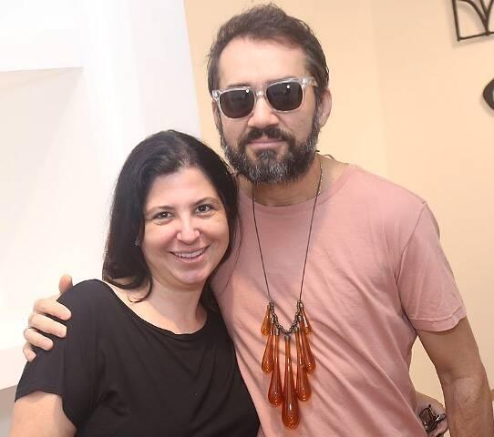 Dominique Valansi e Beto Silva