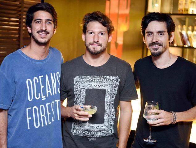 Bruno Vidal, Igor Oliveira e João Mazza