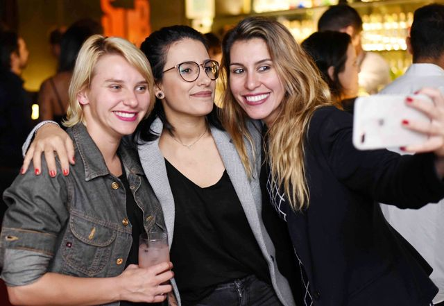 Rafaela Ennes, Jéssica Sanchez e Carolina Lucas